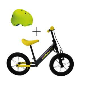 Bicicleta niño Negro-Amarillo