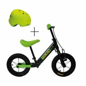 Bicicleta niño Negro-Verde