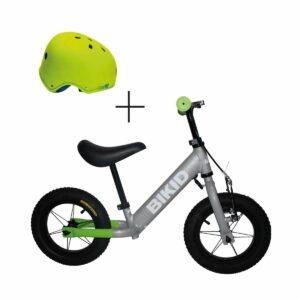 Bicicleta niño Gris-Verde