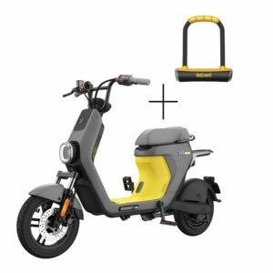 Bicicleta eléctrica moped Segway Ninebot C40 + Candado U