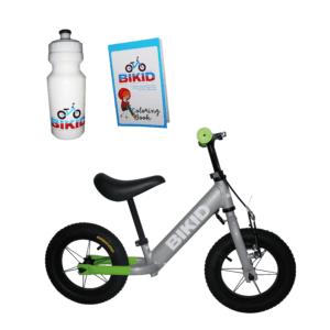 Bicicleta de Impulso Gris-Verde
