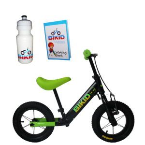 Bicicleta de Impulso Negro-Verde
