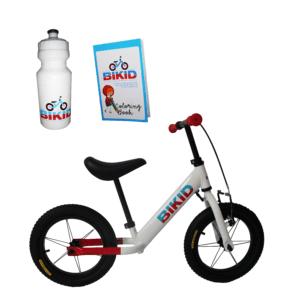 Bicicleta de Impulso Blanco-Rojo