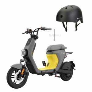 Bicicleta eléctrica moped Segway Ninebot C40 + Casco