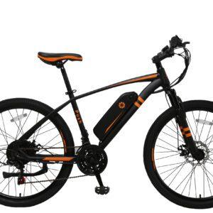Bicicleta Eléctrica Bogota-Push-Orange-250W