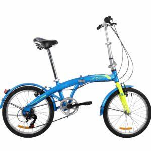 Bicicleta plegable Urban Azul usada marca DTFLY