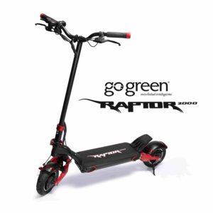 Scooter Eléctrica RAPTOR 2000W